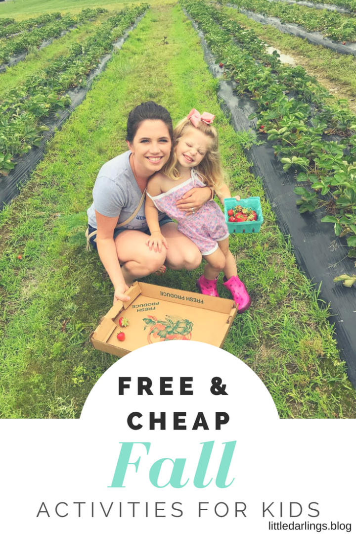 Free and Cheap Fall Activities for Kids