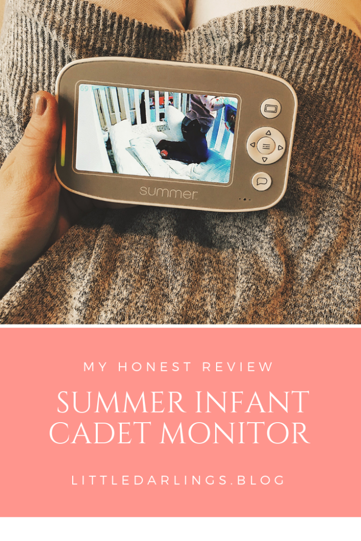Summer Infant Monitor Review: Baby Pixel Cadet